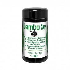 Bambu Salz 9x gebranntes Bambussalz & Schwarzer Knoblauch Pulver (100g)