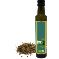 Bio Hanföl 1. Kaltpressung -250ml